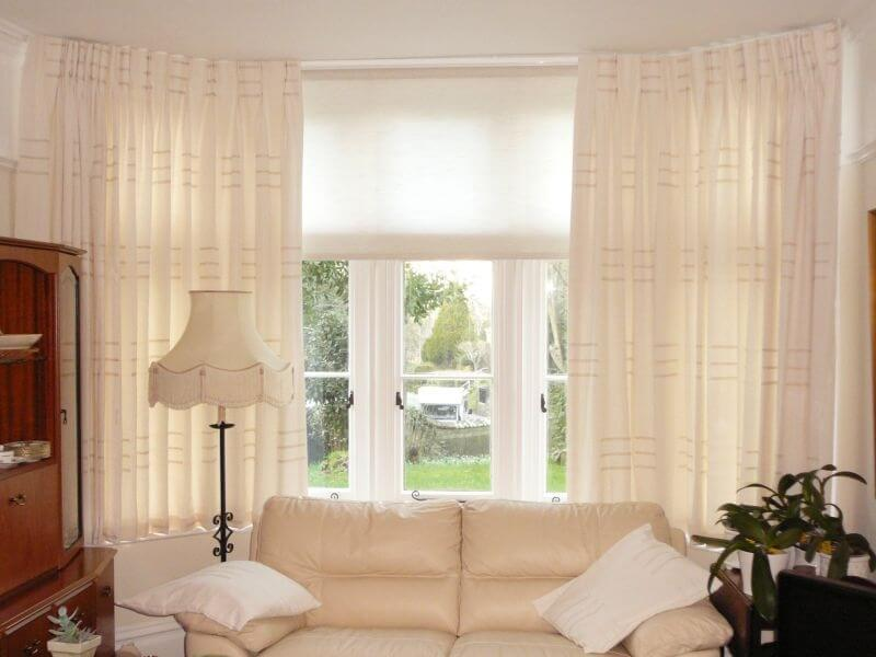 Motorized Window Treatments Best Option For Bay Windows