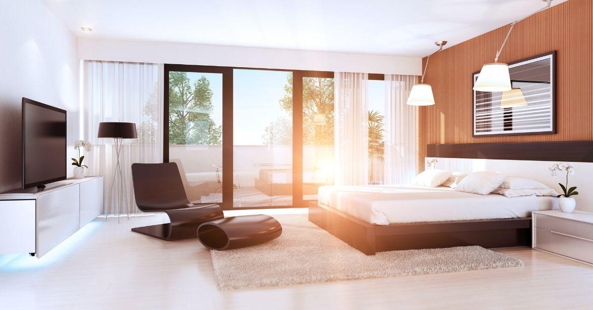 bedroom window treatments for summer